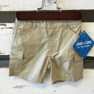 Andy & Evan Khaki Cargo Shorts
