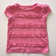 Gymboree Pink  Ruffle Top