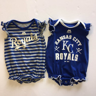 Majestic Royals Ruffle Bodysuits- 2 Pack