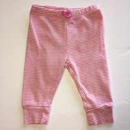 Baby Gap Pink &  White Striped Pants