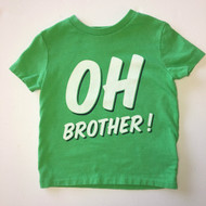 "Baby Gap Green ""Oh Brother"" Tee Shirt"