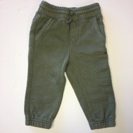 Baby Gap Army Green Pull On Sweat Pants