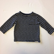 Baby Gap Navy and White Striped Top