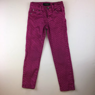 Jessica Simpson Magenta Shimmer Kiss Me Skinny Pants