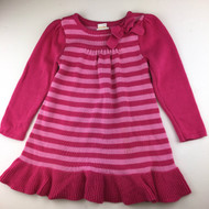 Gymboree Pink Striped Sweater Dress