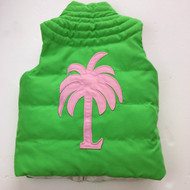 Lilly Pulitzer Reversible Pink & Green Vest