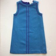 New! Crewcuts Turquoise & Lavender Sleeveless Dress