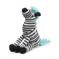 Finn + Emma Daisy The Zebra Rattle Buddy