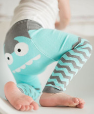 Doodle Pants Organic Monster Leggings