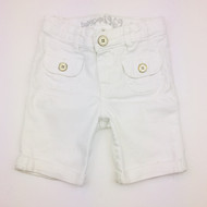 Baby Gap White Denim Bermuda Shorts
