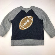 Gymboree Navy & Grey Football Sweatshirt