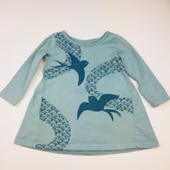 Tea Collection Grey Doves Top