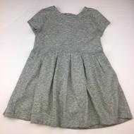 Baby Gap Grey Knit Gold Studded Dress