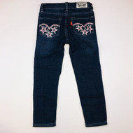 Levi Strauss Sequin Pocket Skinny Jeans