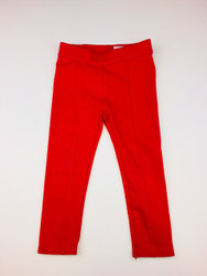 Janie & Jack Red Stretch Leggings