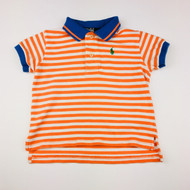 Polo by Ralph Lauren Orange & White Polo Shirt