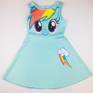 My Little Pony Turquoise Rainbow Dash Dress