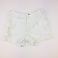 Gymboree White Cargo Shorts
