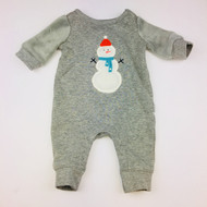Baby Gap Grey Snowman One PIece