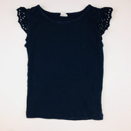 Baby Gap Navy Blue Ripped Tank Top