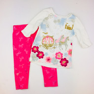 Gymboree Princess Carriage Glitter Top & Leggings