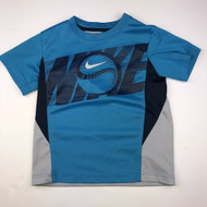 Nike Turquoise, Grey & Black Athletic Shirt