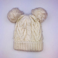 Baby Gap Ivory Cable Knit Stocking Cap