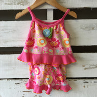 Baby Lulu Floral Tank Top and Shorts Set