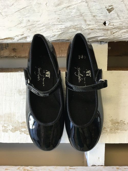 ABT Mary Jane BlackTap Shoes - Abt shoes