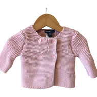 Baby Gap Pink Knit Cardigan