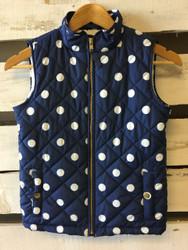 Gap Kids Polka Dot Puffer Vest