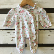 Little Me Floral Bow Romper