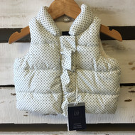 New! Baby Gap Polka Dot Puffer Vest