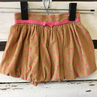 Baby Gap Corduroy Polka Dot Bubble Skirt