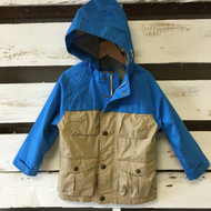 Baby Gap Blue & Tan All Weather Jacket