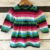Baby Gap Bright Striped Sweater Dress