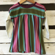 Tea Collection Mauve Striped Dress
