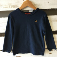 Baby Gap Navy  Blue V Neck Shirt