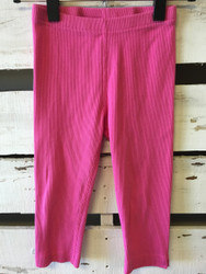 Hanna Andersson Pink Ribbed Capris