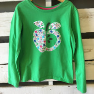 Hanna Andersson Green Apple Top