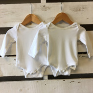Baby Gap  White Bodysuit 2 Pack