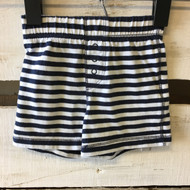 Baby  Gap Navy &  White Striped Shorts
