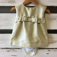 Baby Gap Gold Shimmer Dress