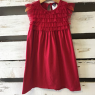 Baby Gap Red Tulle Ruffle Dress