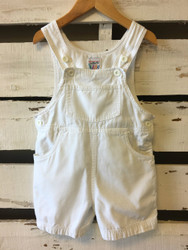 Talbots Kids White Shortalls