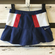 Nike Navy, Red & White Tennis Skirt