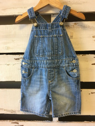 Baby Gap Denim Short Alls