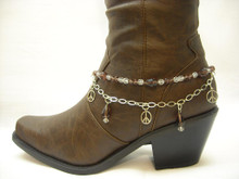 Boot Candy Amethyst Crystals and Peace