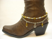 Boot Candy Amber Crystals and Peace
