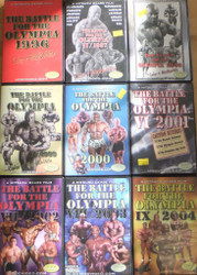 DVD - The Battle For The Olympia